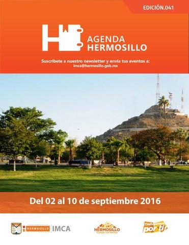 """Cover of """"Agenda Hermosillo 02septiembre2016"""""""