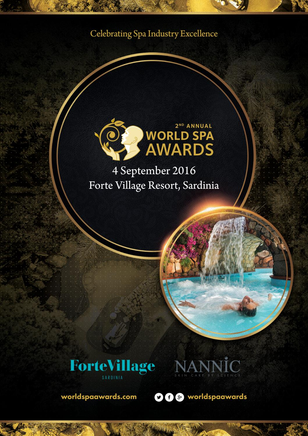 World Spa Awards 2016 By World Travel Awards Issuu