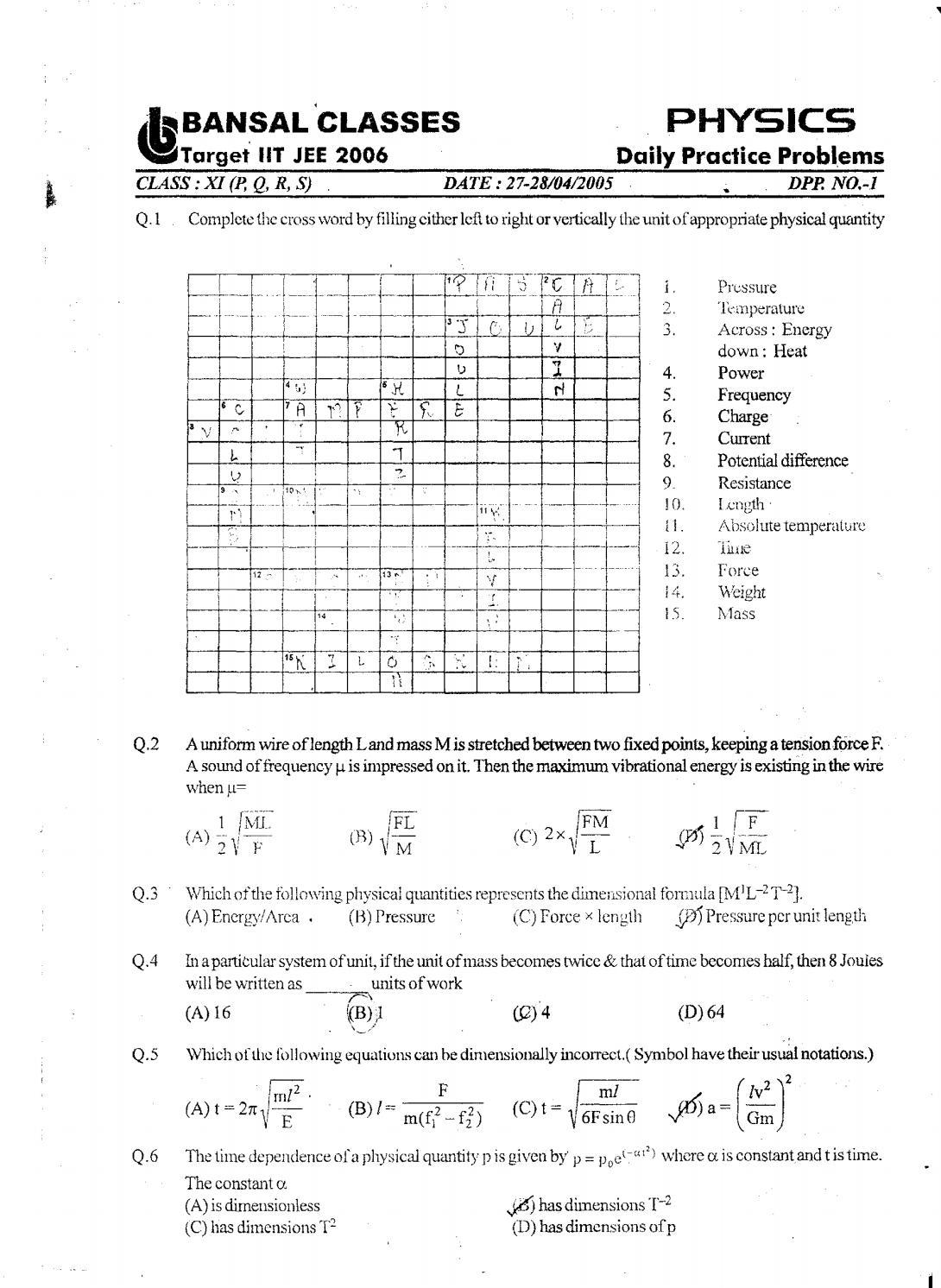 11th Standard Physics Dpps 55844dc959710 1 Pdf By S