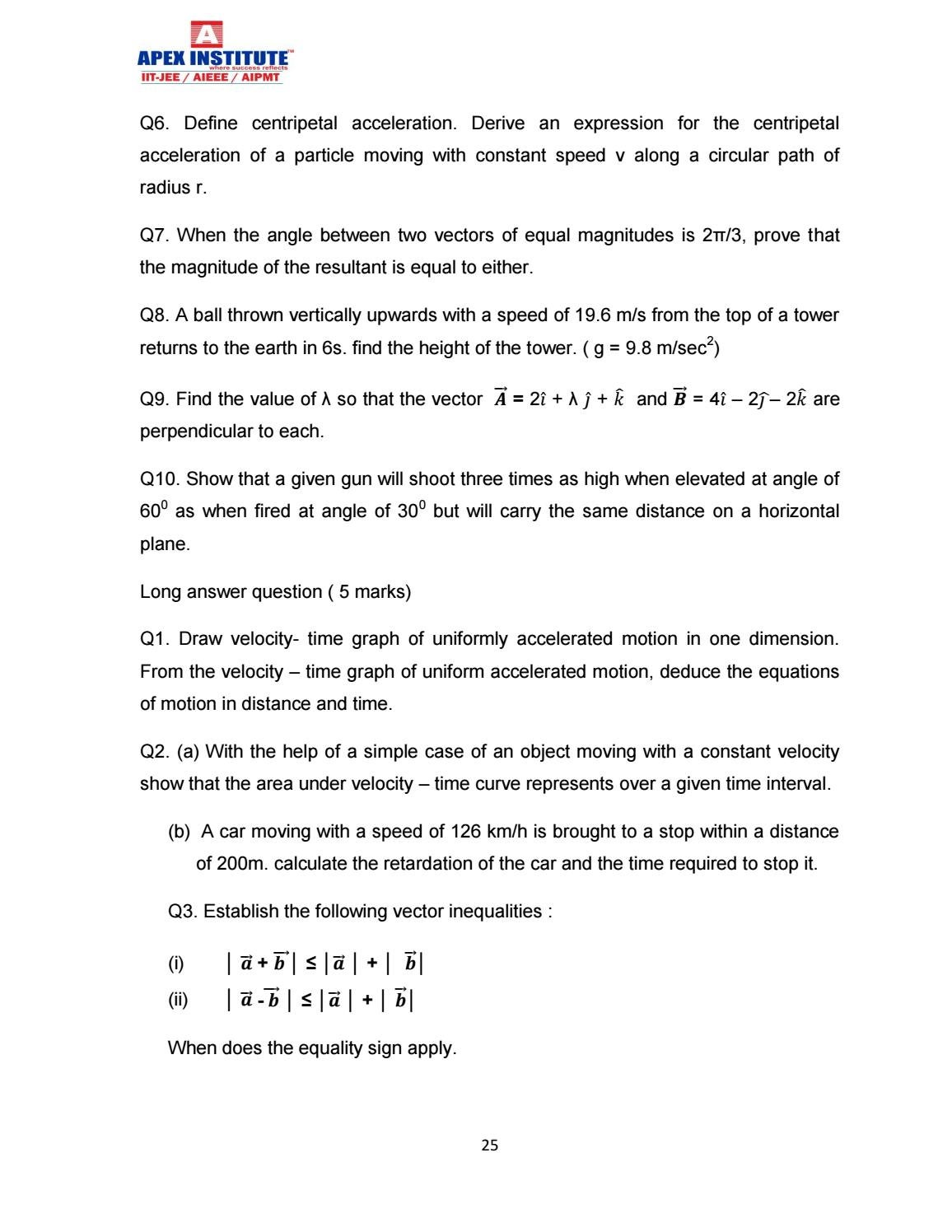 Physics study material for class xi pdf' by S Dharmaraj - issuu