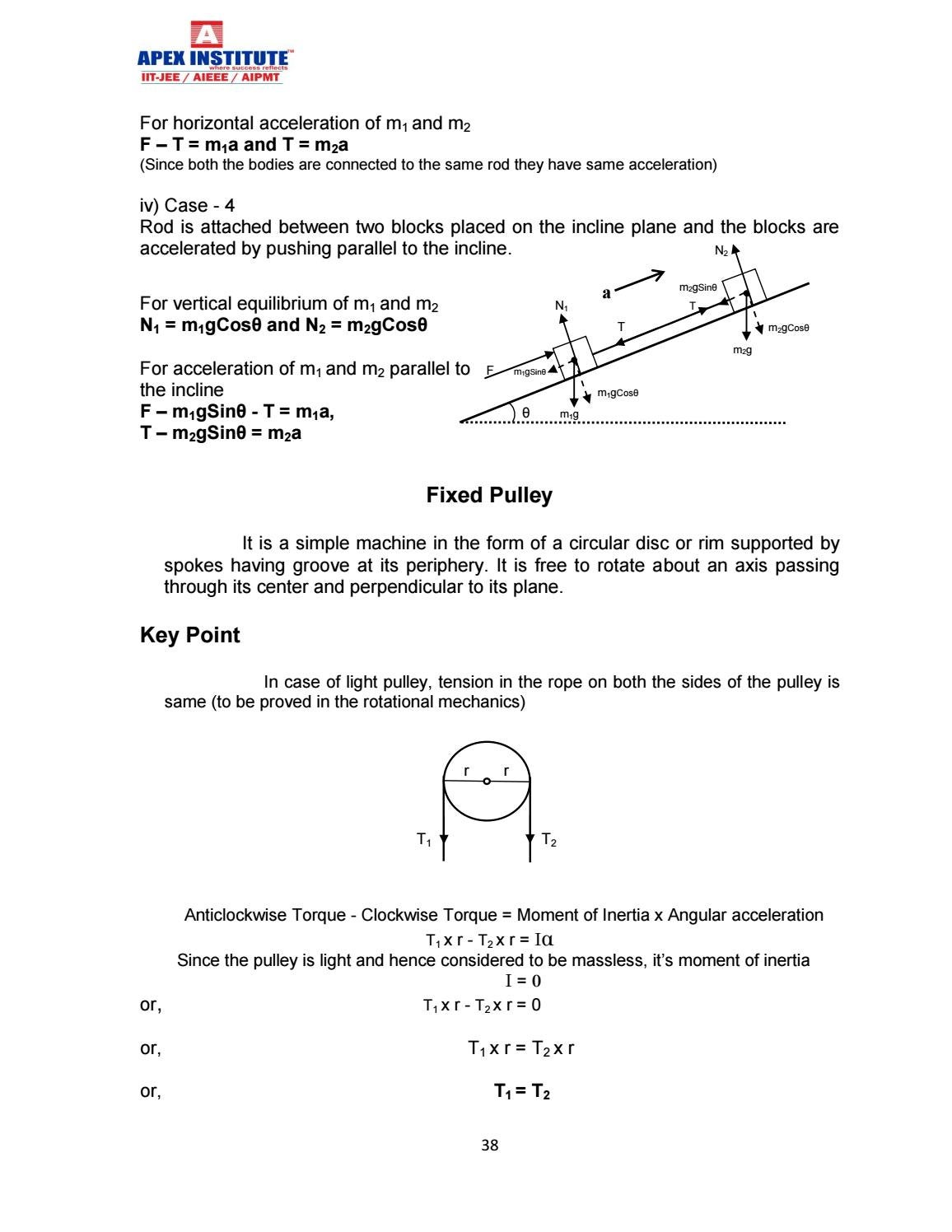 Physics study material for class xi pdf' by S Dharmaraj - issuu