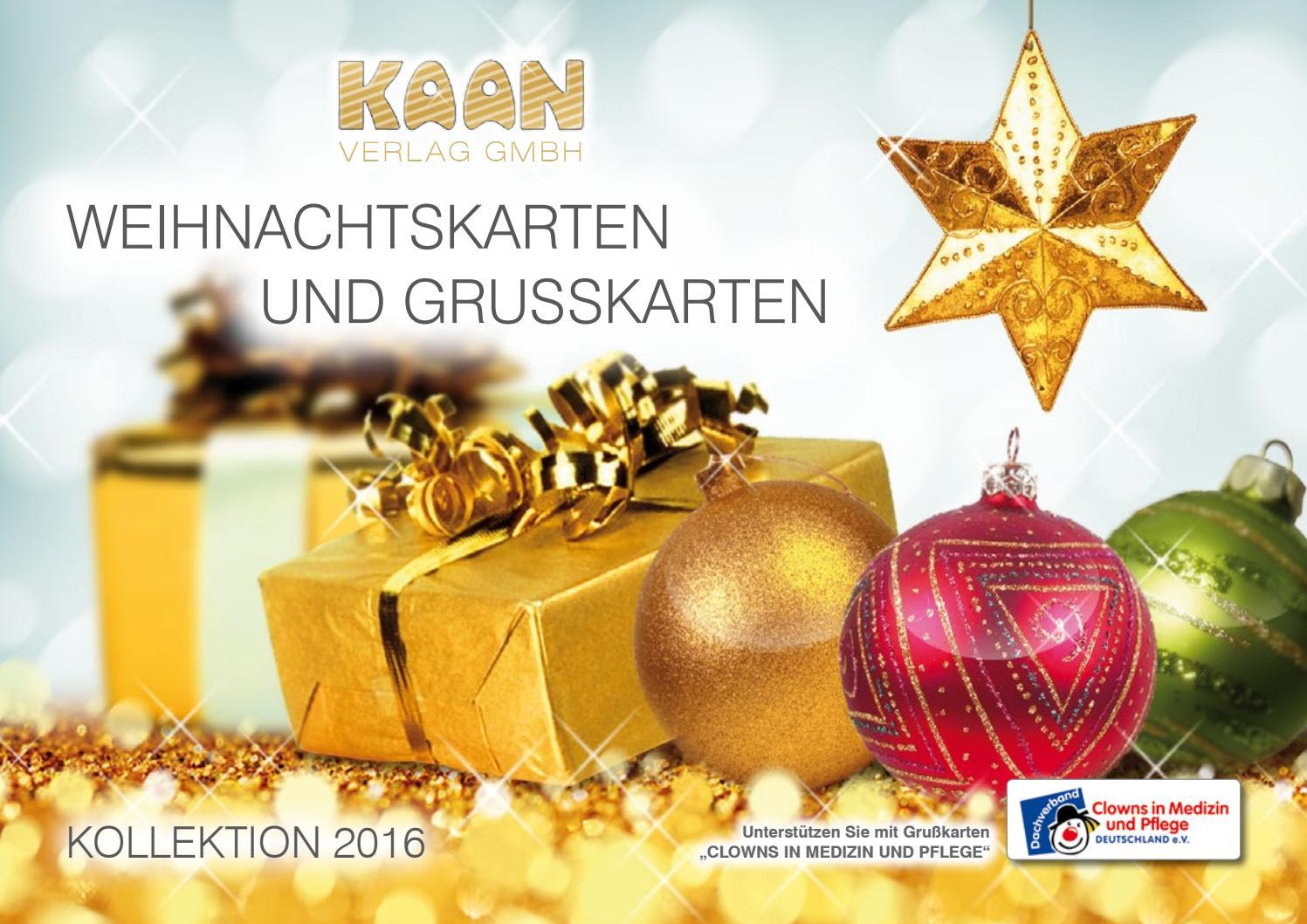 Weihnachtskarten Verlag.Weihnachtskarten Kaan Verlag Gmbh By Kaan Verlag Gmbh Issuu
