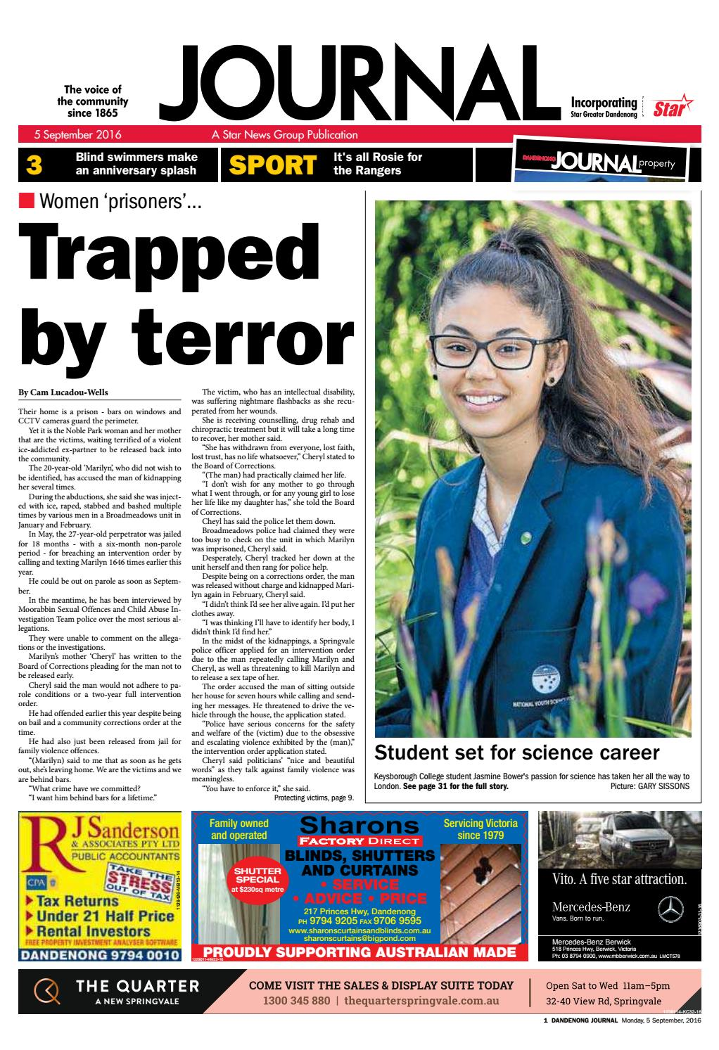 Dandenong Journal Star 05th September 2016 By Star News Group Issuu