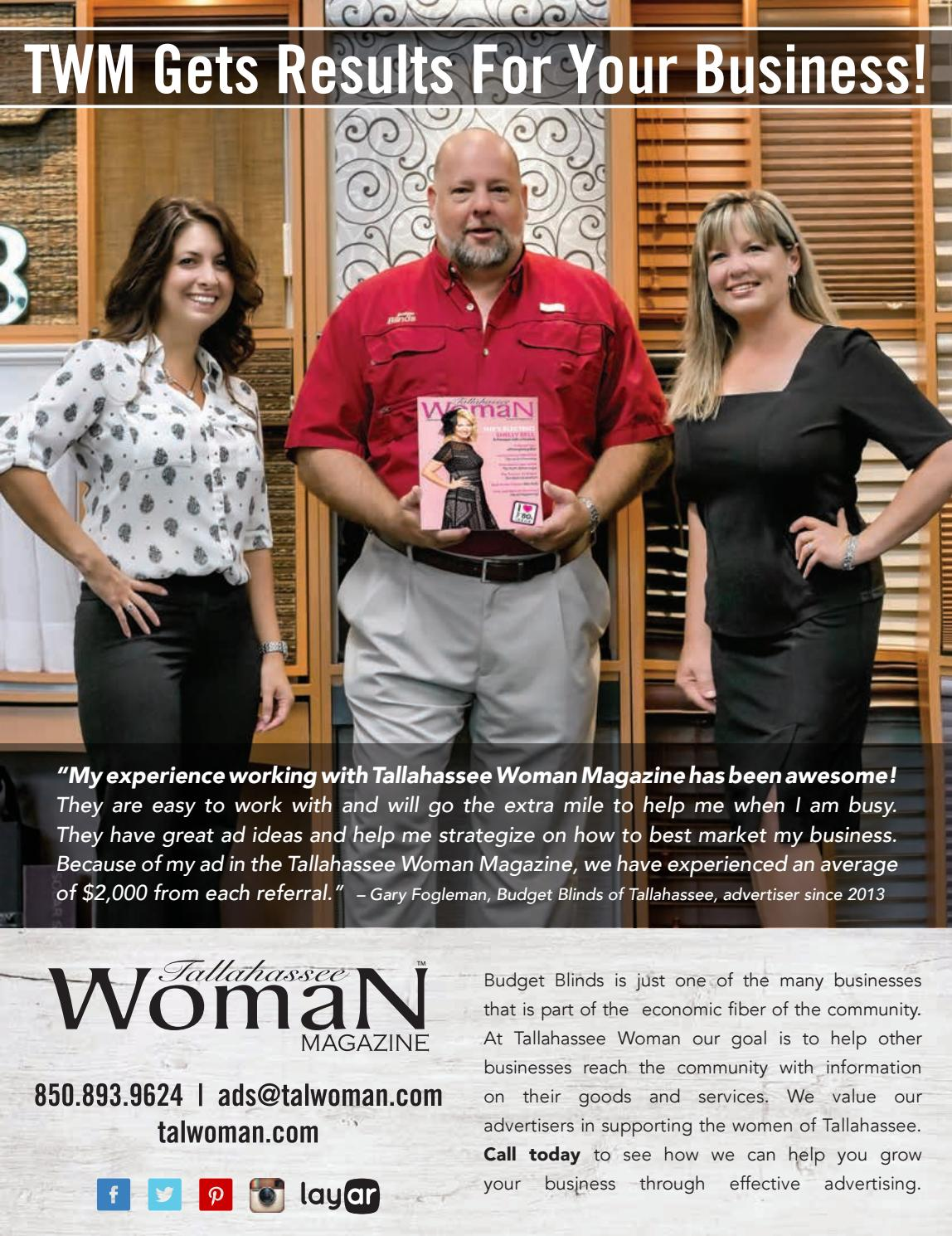 August/September 2016 Tallahassee Woman by Tallahassee Woman