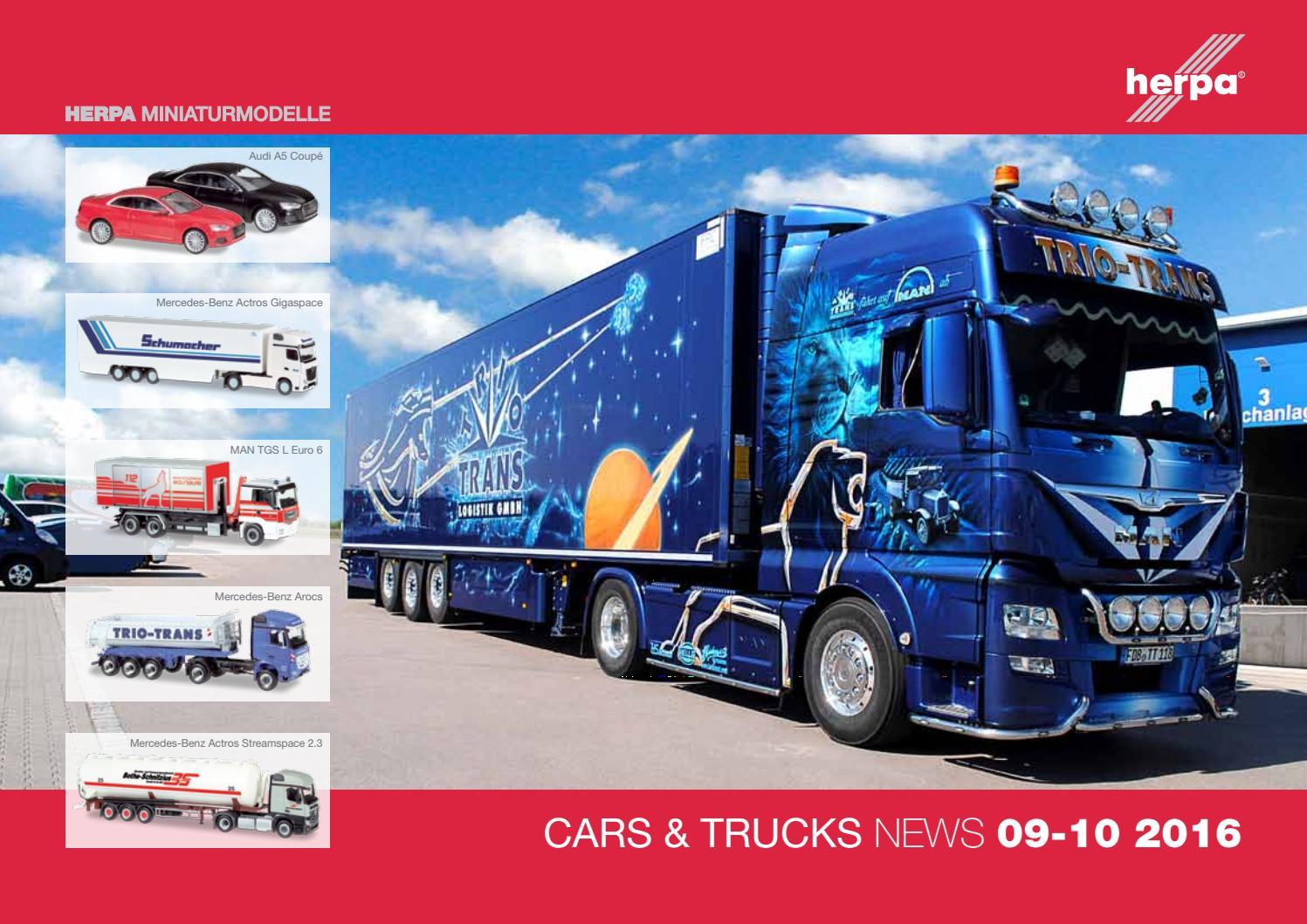 Decals für LKW-Dekor für Scania 5,5 x 6,8 cm rot