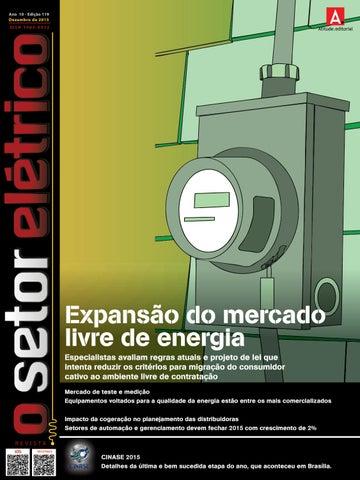df952444ef6 O Setor Elétrico (Edição 119 - Dezembro 2015) by Revista O Setor ...