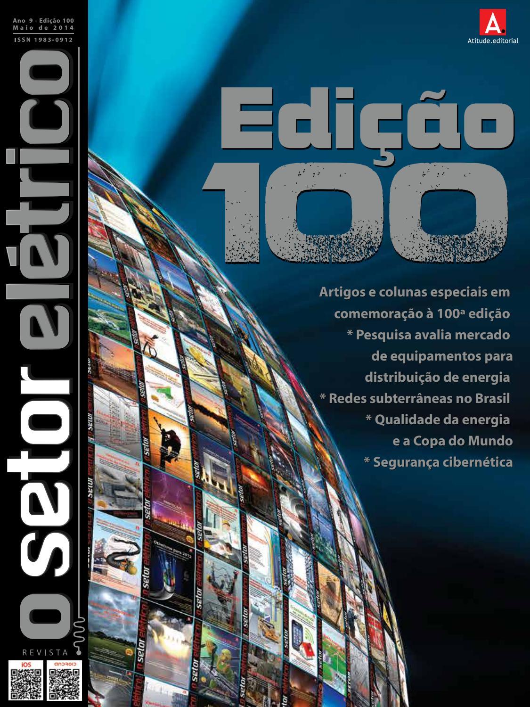 O Setor El Trico Edi O 100 Maio 2014 By Revista O Setor