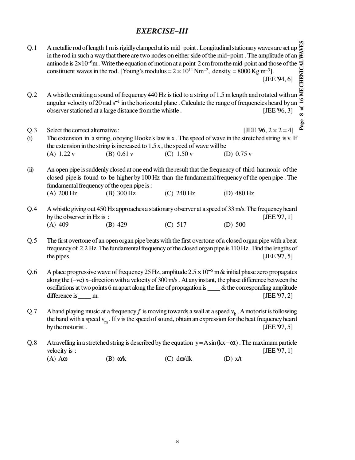 Doc 116 b p s xi physics iit jee advanced study package 2014