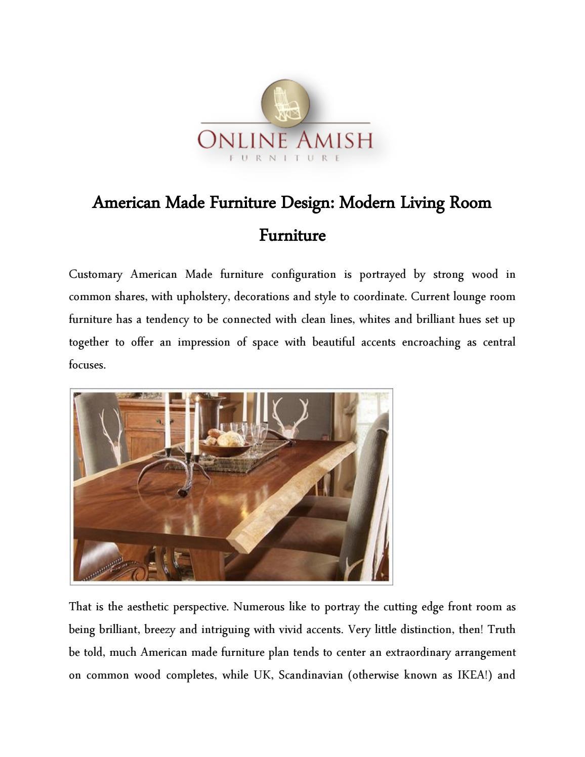 American Made Furniture >> American Made Furniture Design Modern Living Room Furniture