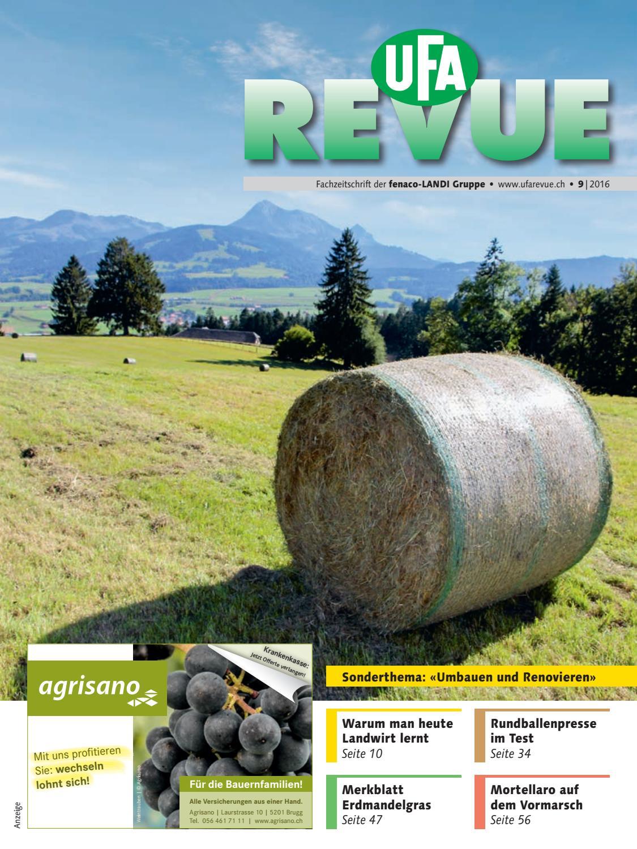 UFA-Revue 09/2016 by fenaco Genossenschaft - issuu