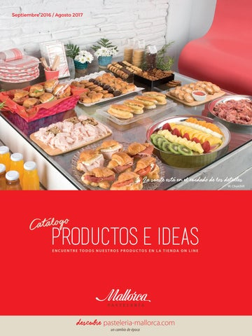 Productos 2016 2017 By Pasteleria Mallorca Issuu