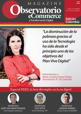 3bd3810c8e Nº 5 Magazine Observatorio eCommerce - Colombia by ...