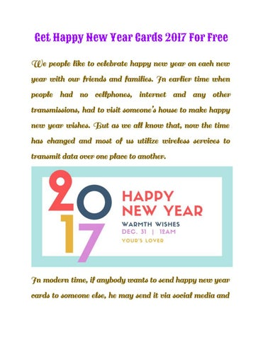 get happy new year cards 2017 for free we people like to celebrate happy new year on each new year with our friends and families