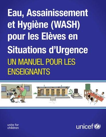eau assainissement et hygi ne pour les el ves en