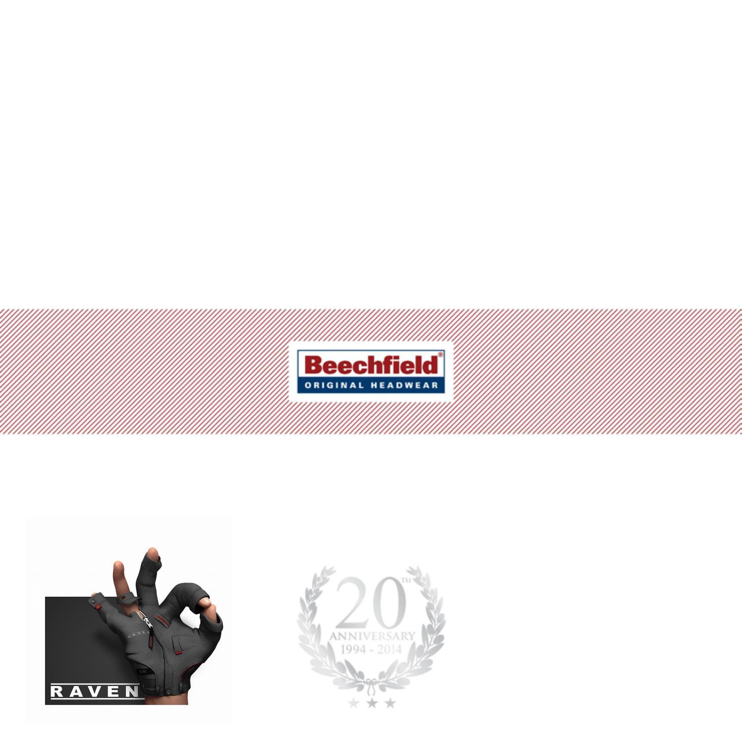 Beechfield B900.BOT Morf Hut Schwarz Einheitsgr/ö/ße