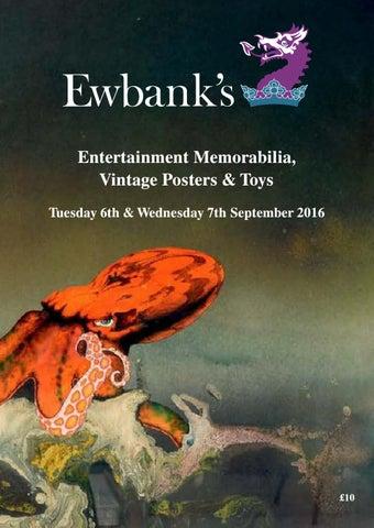 super popular 5a77b b997b Ewbanks Entertainment   Memorabilia Auction 6th   7th September 2016 ...