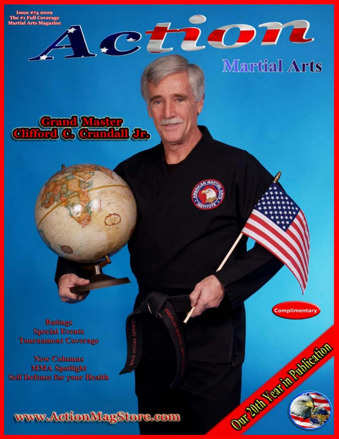 Exceptionnel Action Martial Arts Magazine #74 by Action Martial Arts Magazine  UU67