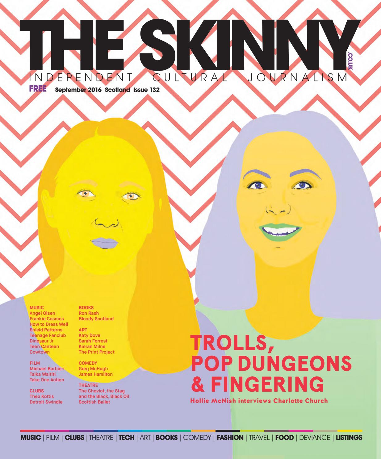 The Skinny Scotland September 2016 by The Skinny - issuu