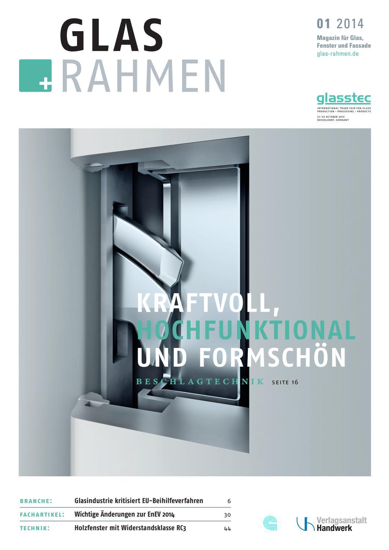 Glas + Rahmen Magazin by Thomas Hagenbucher - issuu