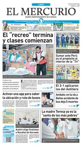 hemeroteca 05-09-2016 by Diario El Mercurio Cuenca - issuu 559cb40dbbd