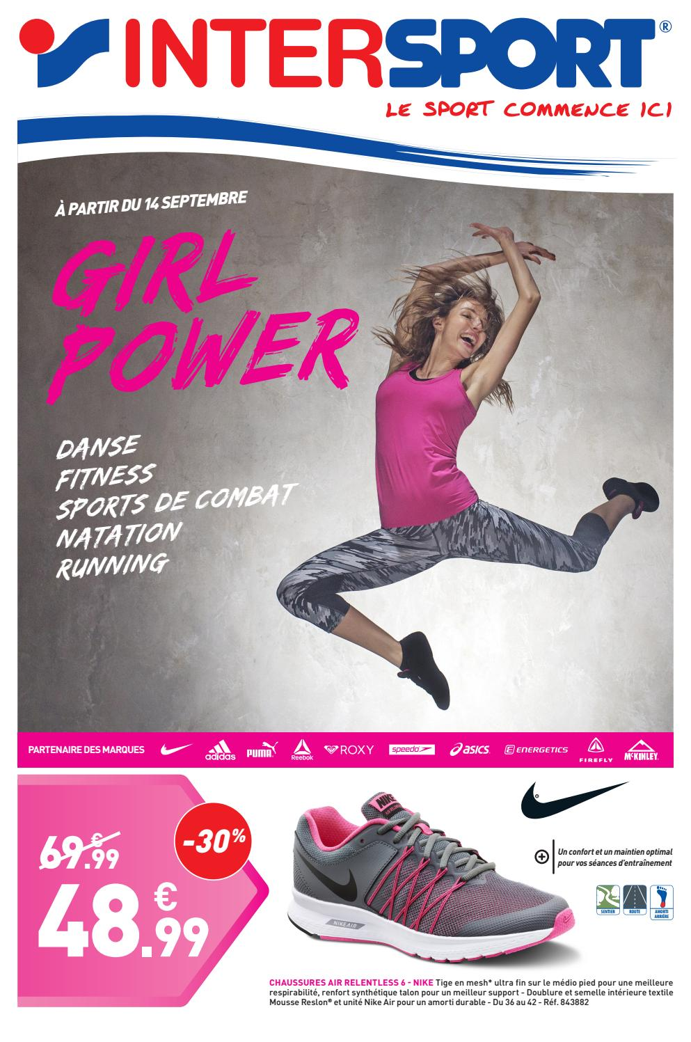 Dépliant Girl Power (28 pages) by INTERSPORT France issuu