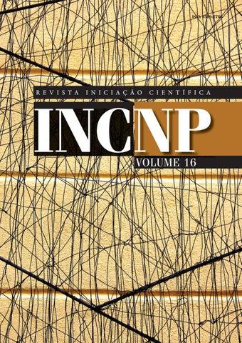 b191b771c Revista Iniciação Científica V.16 by Núcleo de Publicações ...