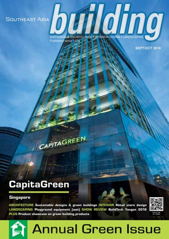 bac3f8aa28 CapitaGreen Singapore ARCHITECTURE Sustainable designs   green buildings INTERIOR  Retail store design LANDSCAPING Playground equipment (wet) SHOW REVIEW ...