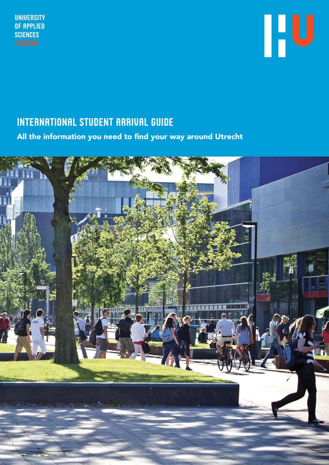 International student arrival guide september 2016 by - Utrecht university international office ...
