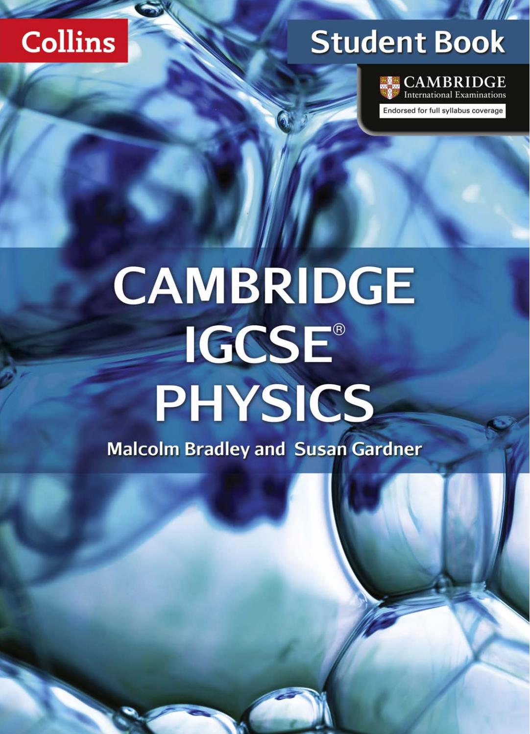 Cambridge IGCSE Physics Student Book by Collins - issuu