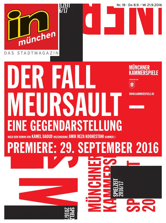 in münchen - Das Stadtmagazin Nr. 18/2016 by InMagazin Verlags GmbH ...