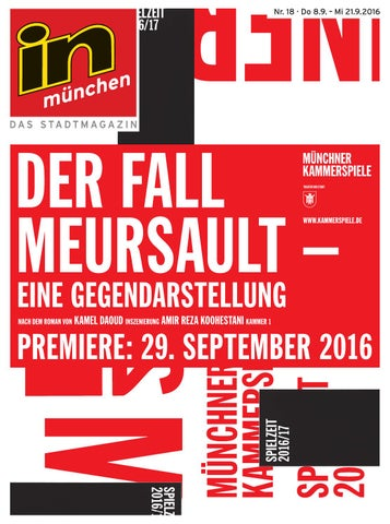 Inmagazin By Verlags Stadtmagazin München Nr182016 Das In Gmbh tCrhdQsx