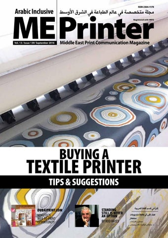 b824984e137e8 ME Printer September Issue 139 by ME Printer Magazine - issuu