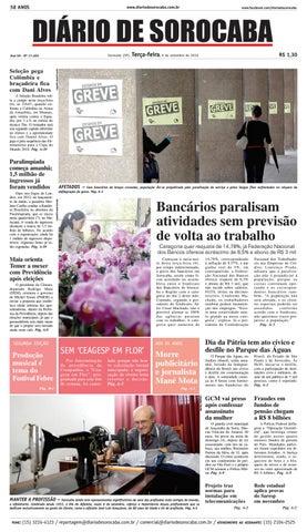 Edição de 06 de agosto de 2016 by DIÁRIO DE SOROCABA - issuu 9786dbfe9af51
