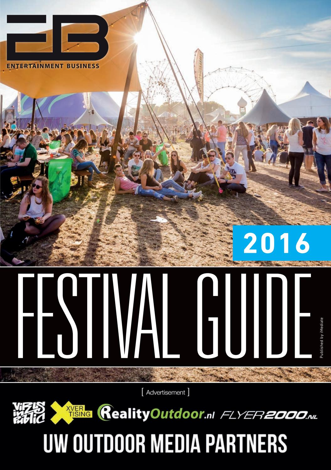 Eb Festival Guide 2016 By Entertainment Business Issuu