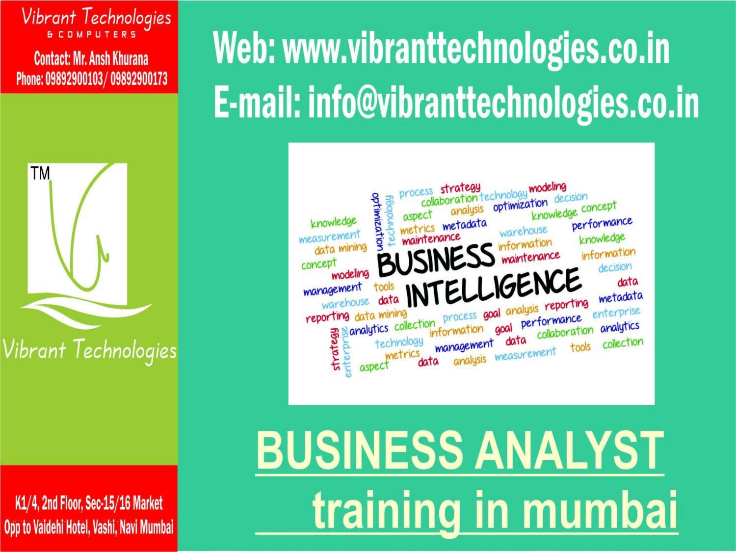 Buisness Analyst Business Analysis Overview Ppt 5 By Vibrant