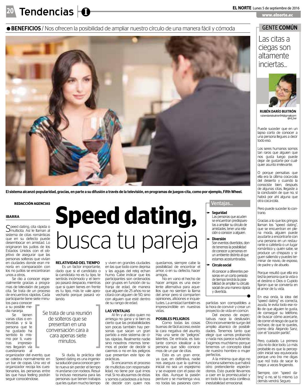 speed dating ejemploizlazi iz ženke knjižnice