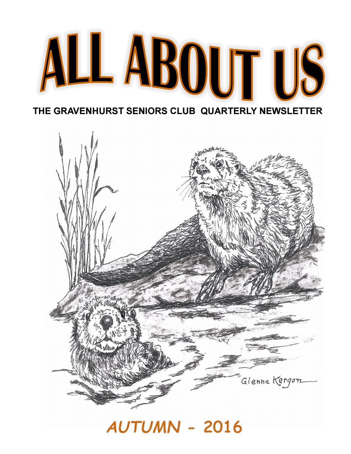 newsletter autumn 2016 gravenhurst seniors club by town of