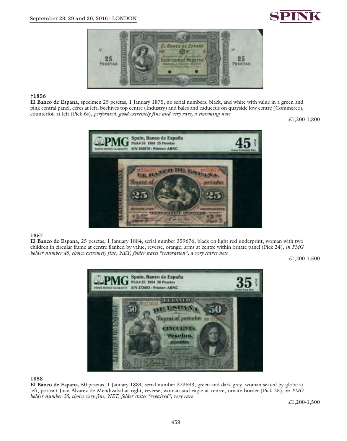 16015 - World Banknotes - Day 2 & 3 by Spink and Son - issuu