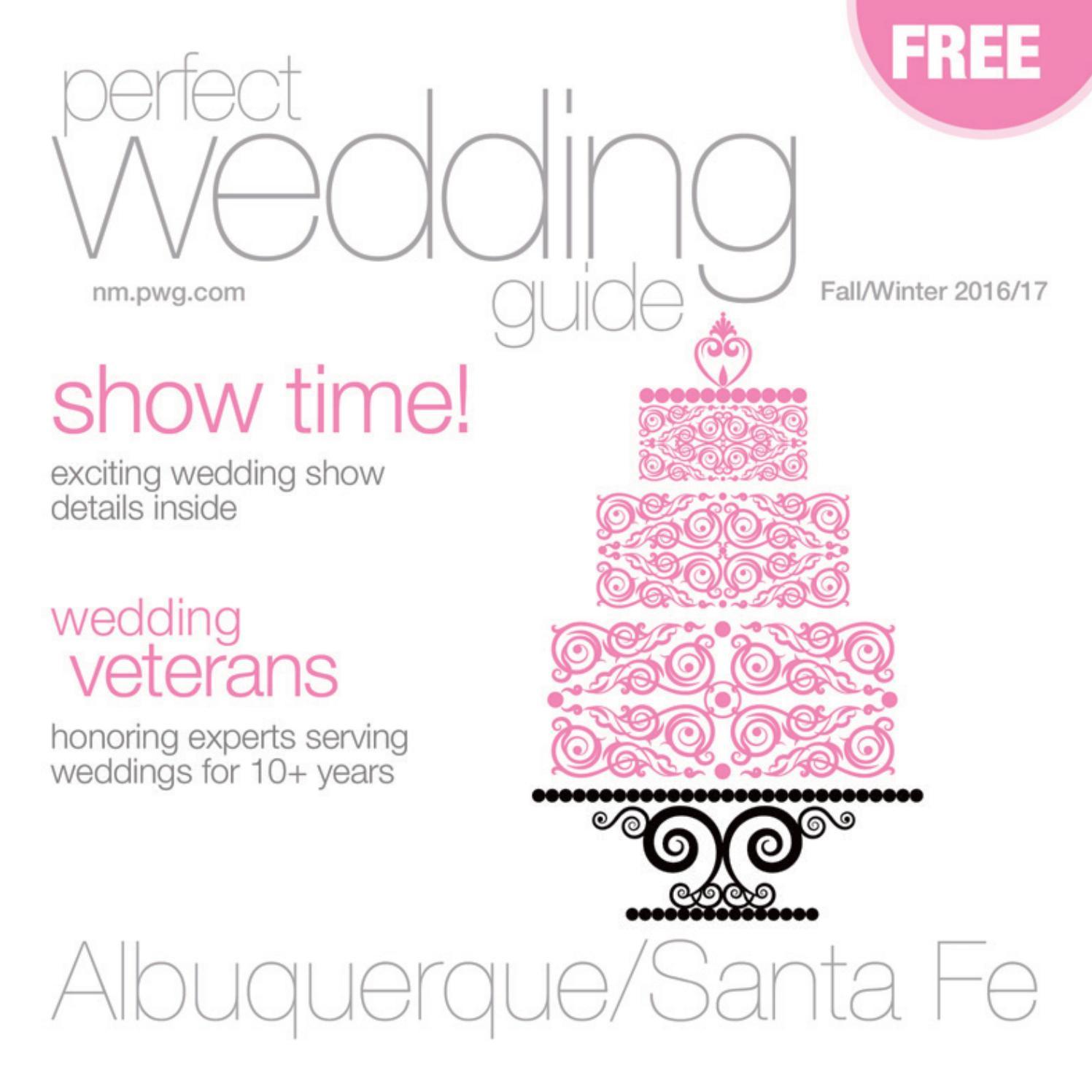 Perfect Wedding Guide Albuquerque/Santa Fe Fall/Winter 2016/17 by ...