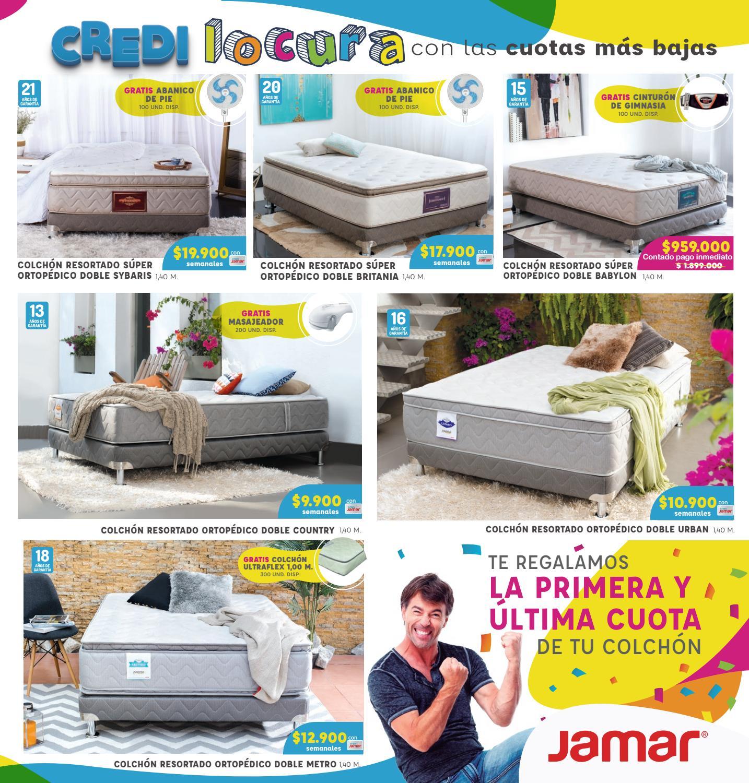 Cat Logo Colch N Man A Jamar 2016 Barranquilla By Www Jamar Com  # Muebles Jamar Barranquilla