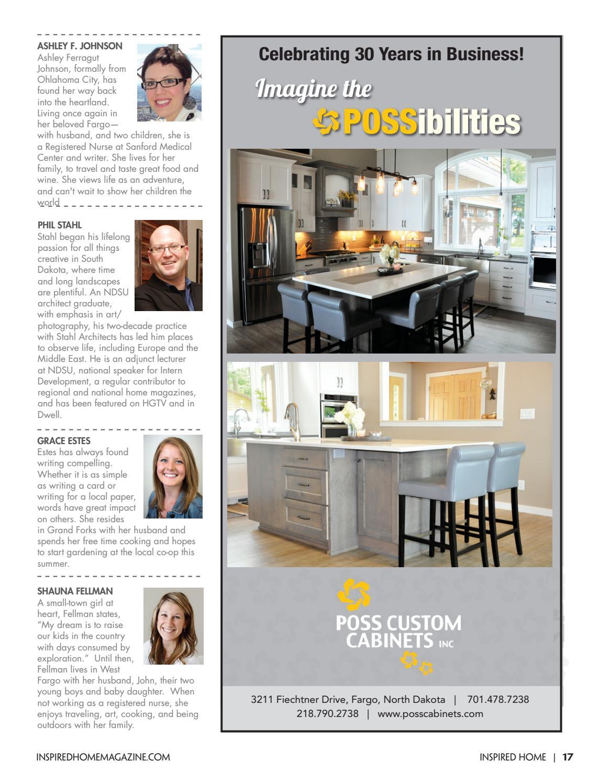 Fhi 0908 16 pgs 1 100 by Inspired Home Magazine Fargo - issuu