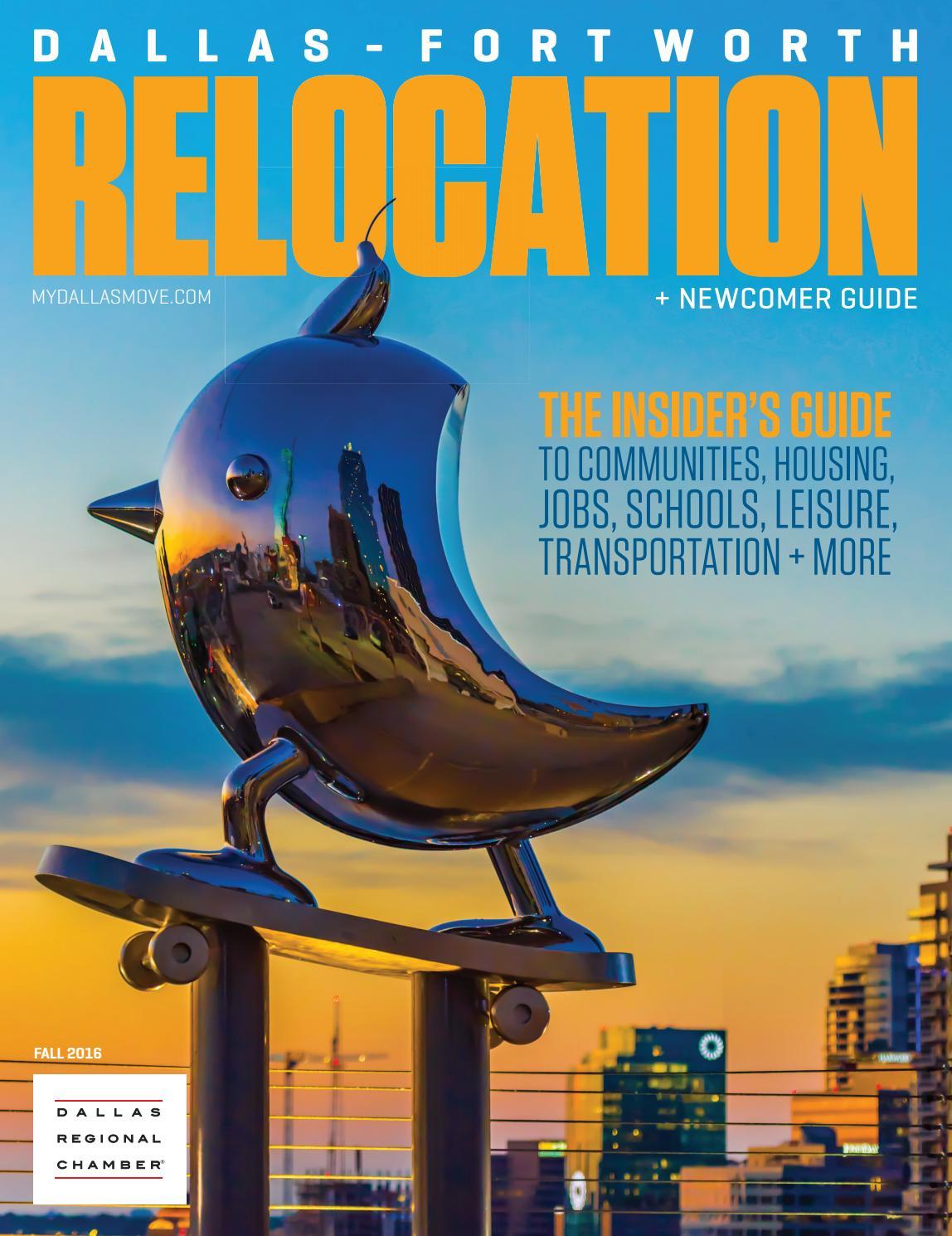 Dallas fort worth relocation fall 2016 by dallas regional chamber publications issuu