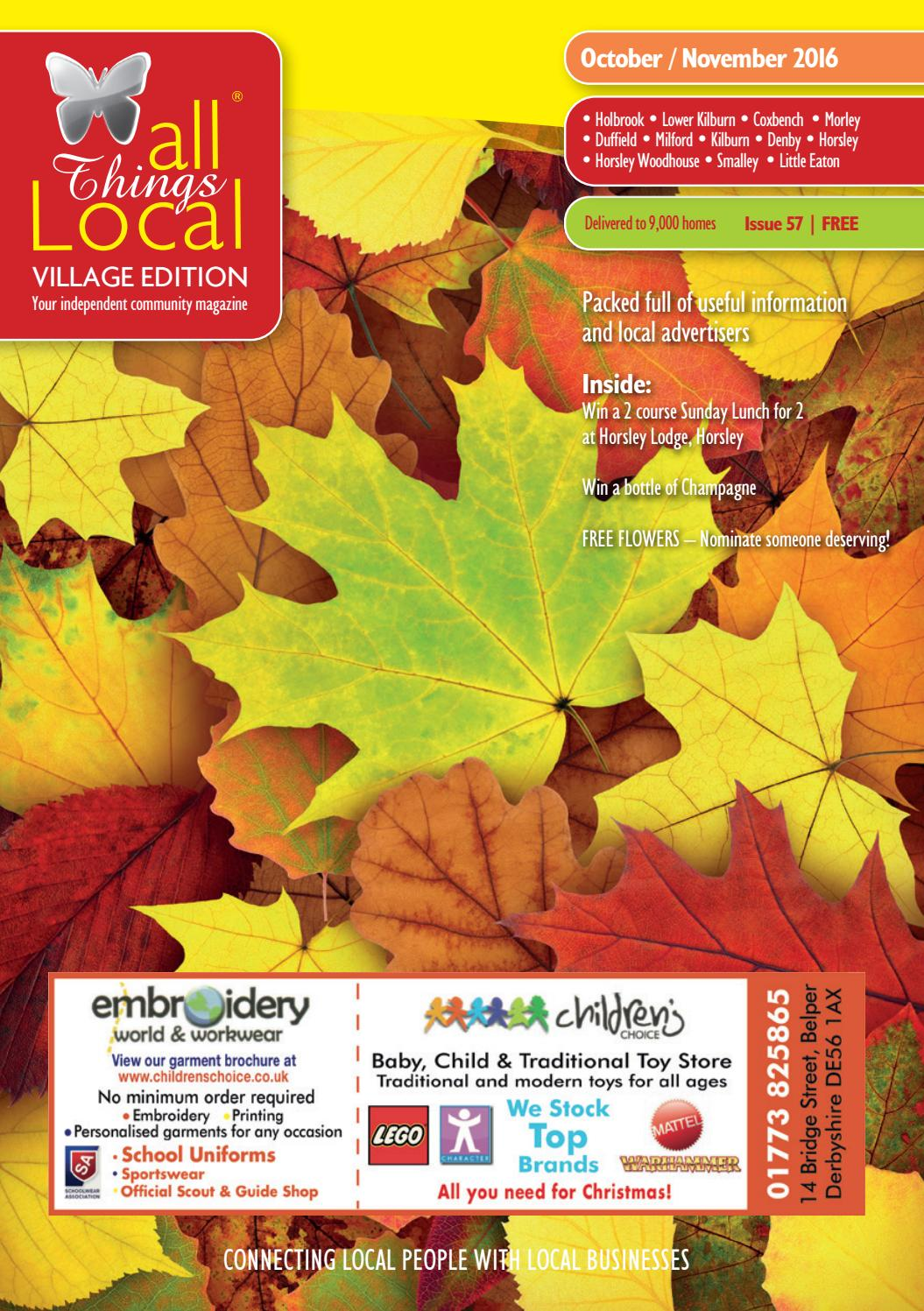 All Things Local - Village Edition - October/November 2016 by ...