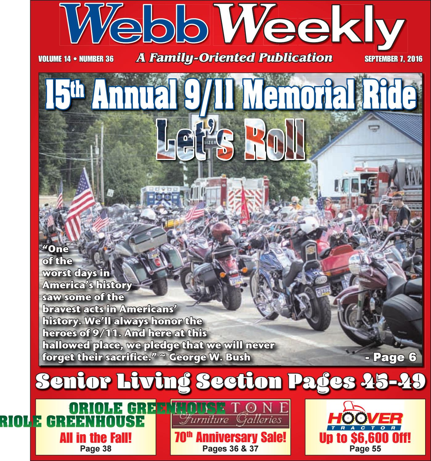 Webb Weekly September 7 2016 By Issuu Remax Car Charger 3 Port Usb 36a