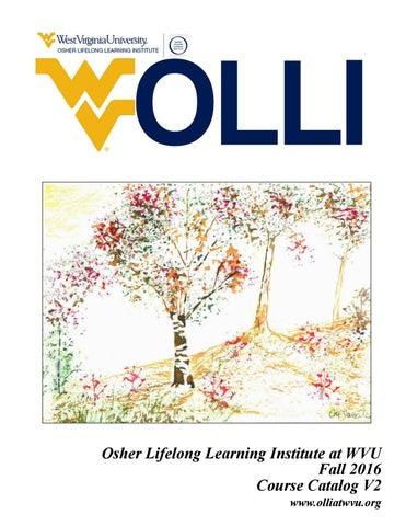 Olli At Wvu New Fall 2016 Catalog By Olli At Wvu Issuu