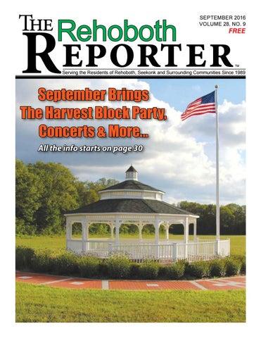 September 2016 Rehoboth Reporter by Dick Georgia - issuu