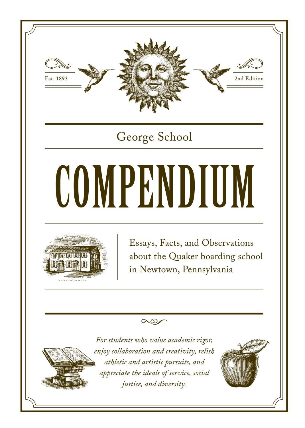 compendium of essays unique publishers Main street rag publishing company is an independent publisher of poetry, fiction, and creative nonfiction in our books and literary magazines as well as a print/bindery/productio.