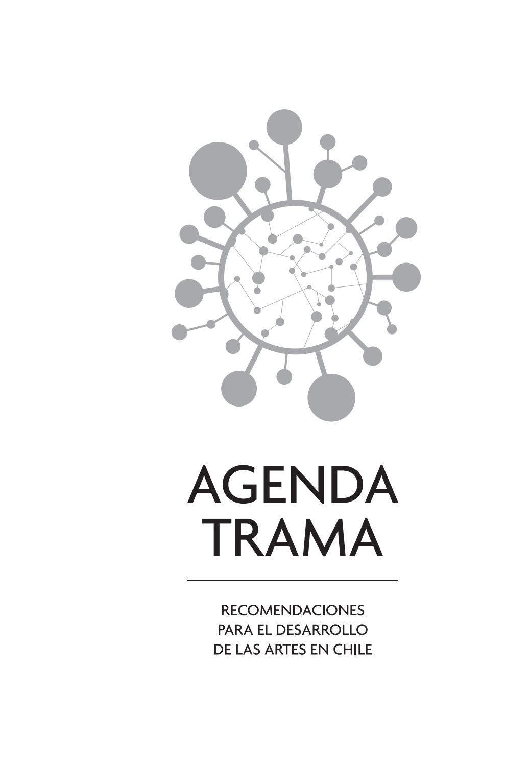 Trama agenda trama recomendaciones para el desarrollo de las artes ...