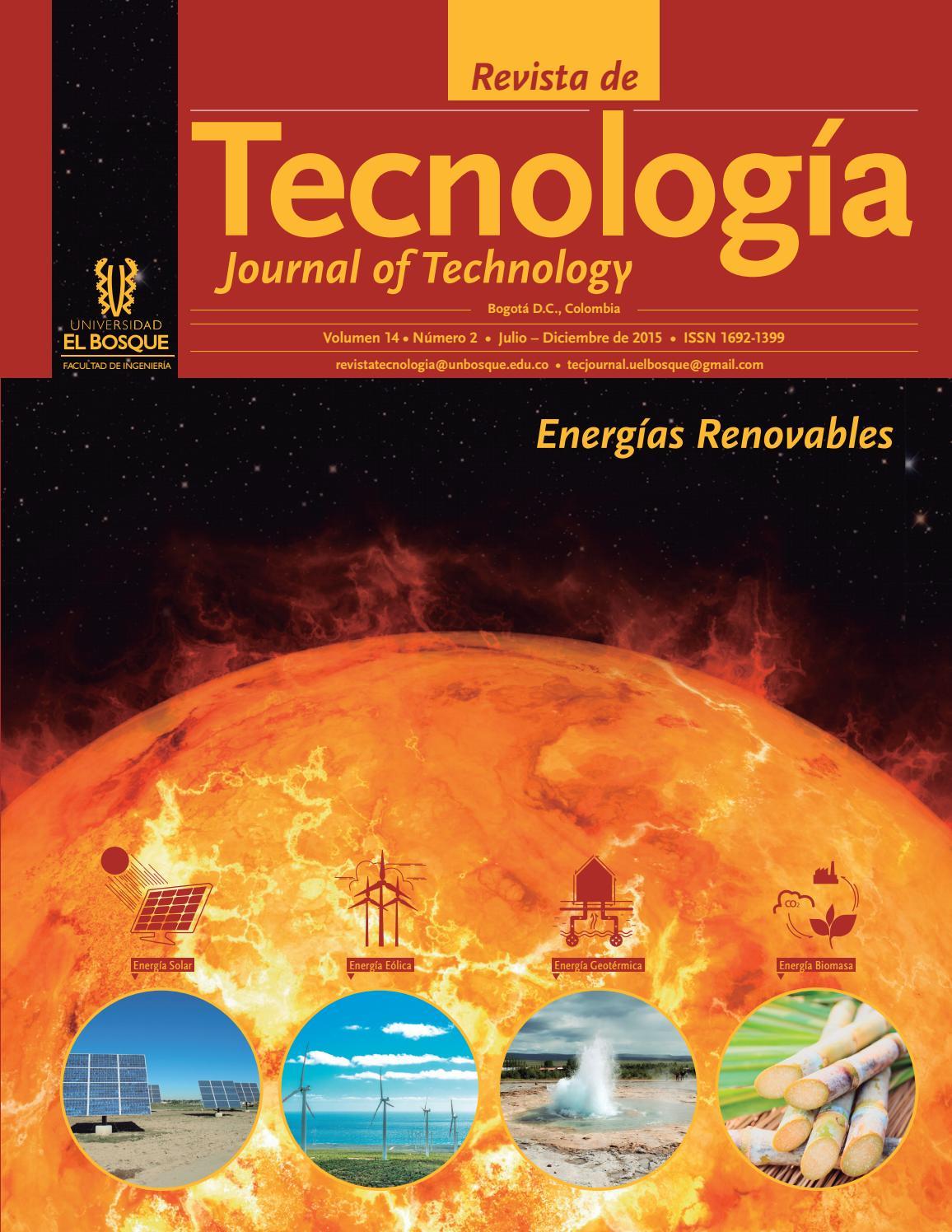 Revista de Tecnología - Journal of Technology by Universidad El Bosque -  issuu 85dbe1c1f46