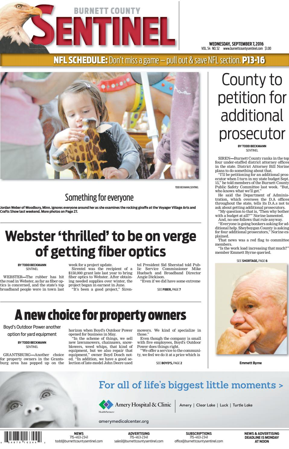Burnett County Sentinel 9.7.16 by Burnett County Sentinel - issuu c9cb335508e5b